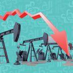 النفط الاميركي يهبط إلى اقل من الصفر