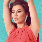 نادين الراسي مشتاقة لخطيبها البعيد - صورة
