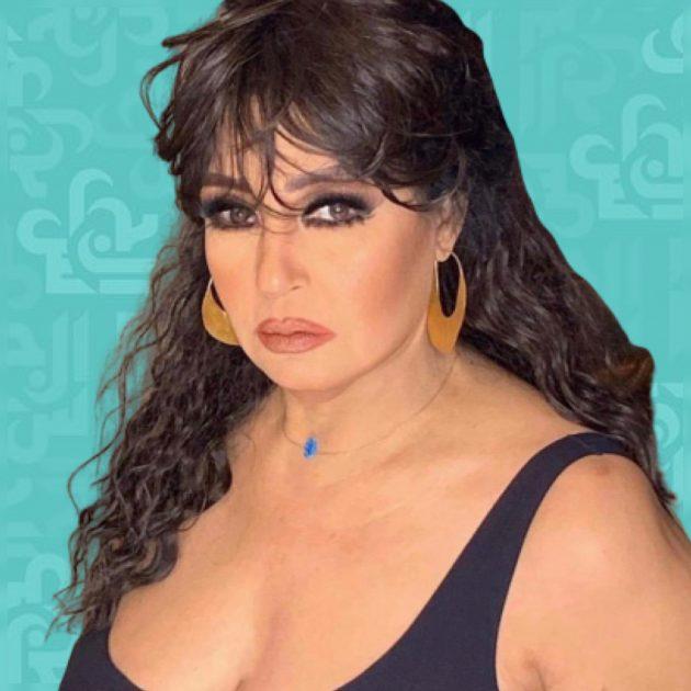 فيفي عبده بالقصير أمام البحر - صورة