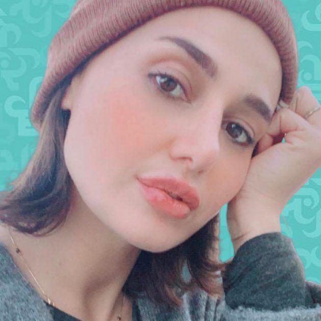 حلا شيحة وضعت الحجاب مجددًا وحاكمها المتخلفون - صورة