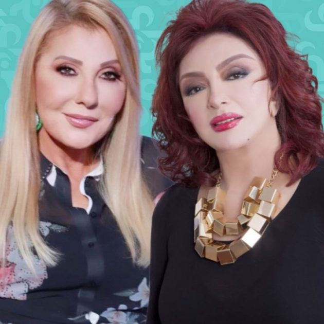 نادية الجندي ملكة في مسلسلها ونبيلة عبيد تبدع