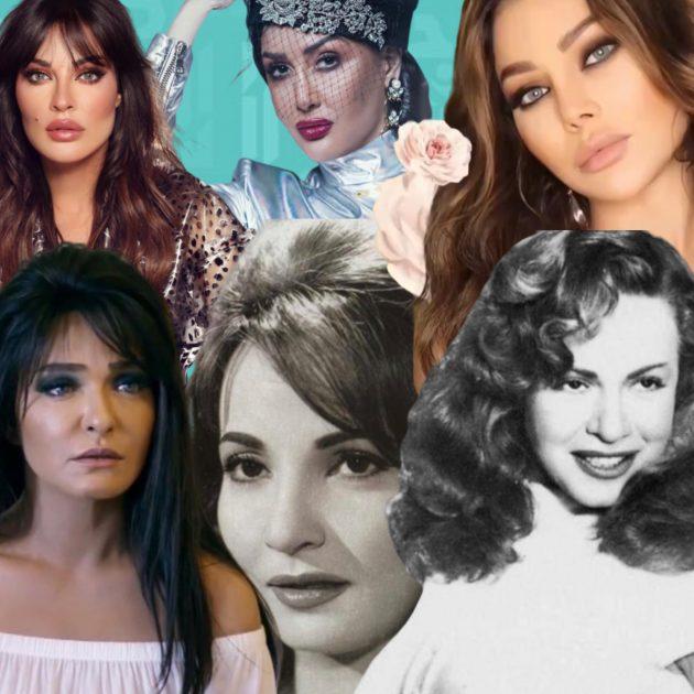 القبل في السينما المصرية واللبنانية