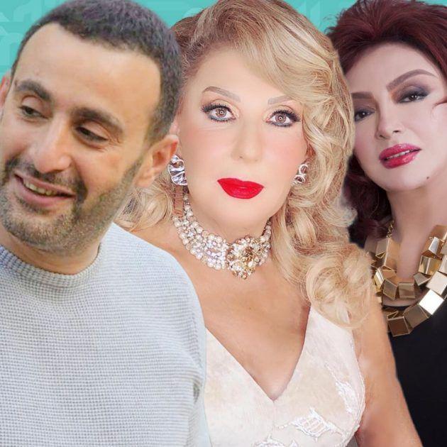 نادية الجندي نبيلة عبيد أحمد السقا