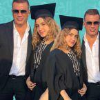 """ابنة عمرو دياب تظهر بطنها """"وحركة زي الرفت"""" - صورة"""