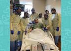 أول علاج كورونا ينجح في الولايات المتحدة مع مصاب في حالة حرجة