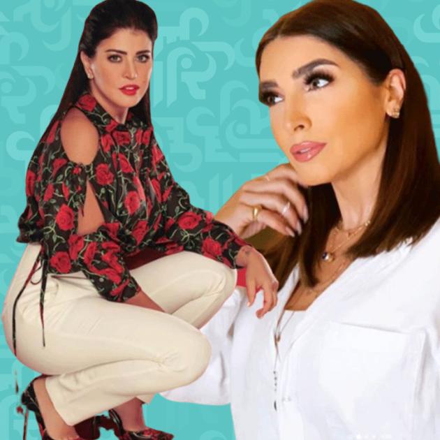 جومانا مراد وروجينا عملاقتا رمضان 2020 وعلى الآخرين الاقتداء