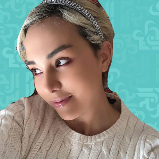 سلمى غزالي بعد مرض شفيفتها ريم حلقت شعرها زيرو - صورة