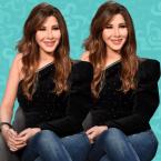 نانسي عجرم وشقيقها الصغير شاب شعره - صورة