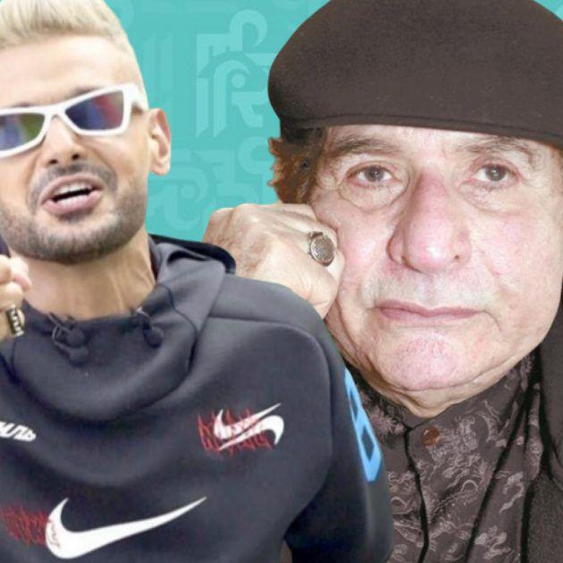 """رامز جلال وتصرف معيب بحق ممثل مصري قدير """"يا عيب الشوم"""""""