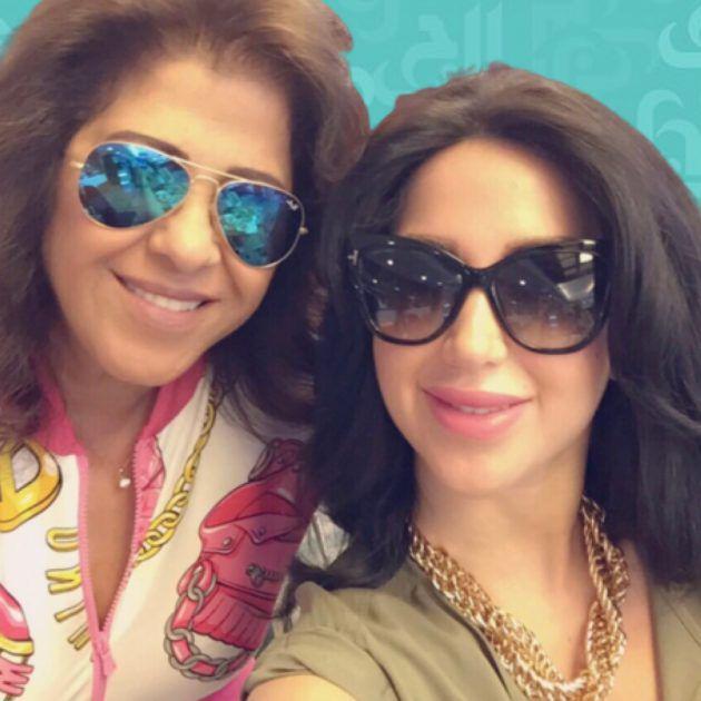 ليلى عبد اللطيف نشرت صور ابنتها السعودية واشتاقت لها