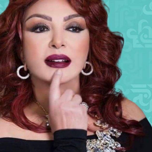فستان نبيلة عبيد طار في (رامز مجنون رسمي) - فيديو