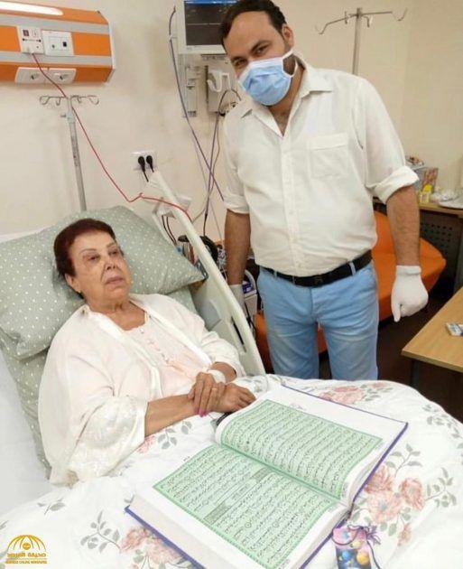 رجاء الجداوي من المستشفى