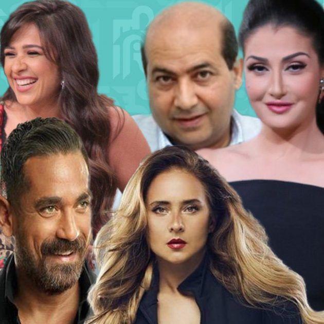 غادة عبد الرازق طارق الشناوي نيللي كريم أمير كرارة