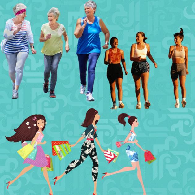 فوائد المشي الذي يقضي على الشيخوخة والسرطان وعددها 18