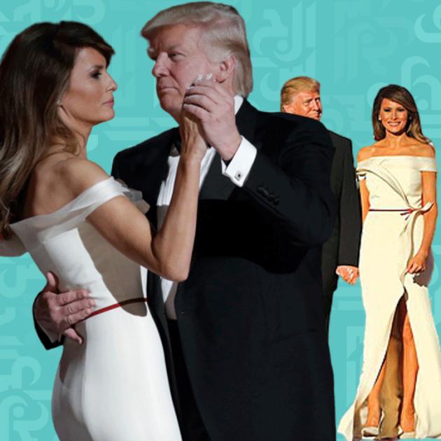 ترامب وميلانا إلى قبو البيت الأبيض