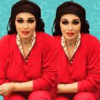 فيفي عبده بالنقاب وهكذا اعتدوا عليها! - صورة