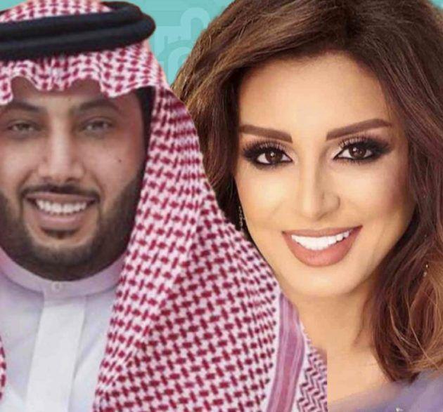 أنغام تعيد التعاون مع تركي آل الشيخ