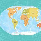 """خرائط جديدة تروي أسرار """"القارة الثامنة"""" - صورة"""