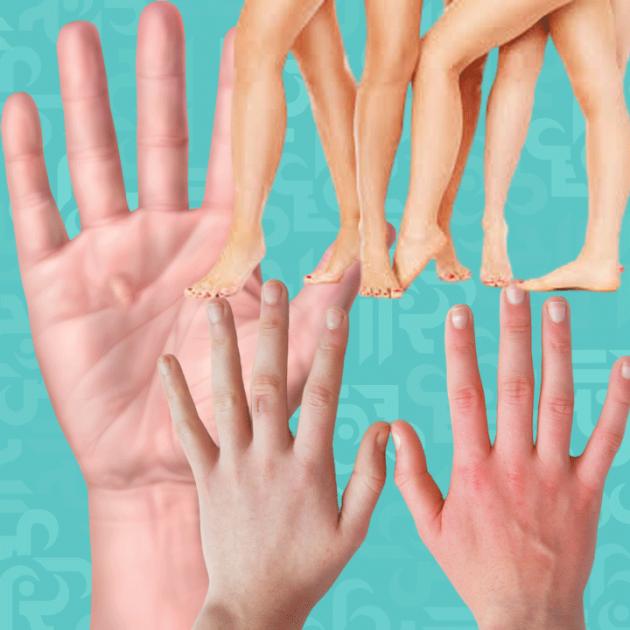 اليدان والقدمان راقبهما لتعرف أمراضك قبل فوات الأوان