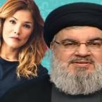 ندى أبو فرحات تنتقد السيد نصر الله