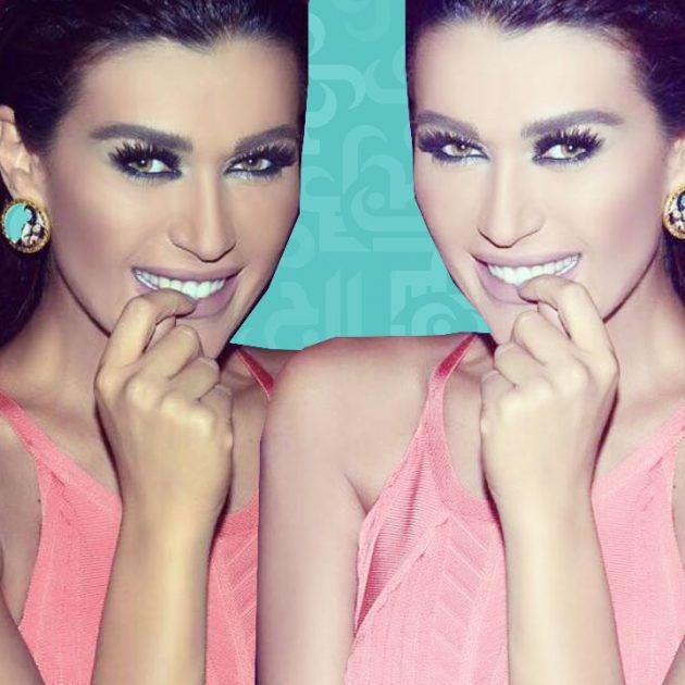 نادين الراسي وخطيبها بلقطةٍ رومانسية - صورة