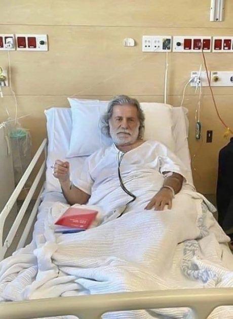 مارسيل خليفة في المستشفى - صورة