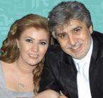 زوجة عباس النوري تنفي انفصالهما!
