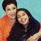رجاء الجداوي مع ابنتها وحفيدتها قبل رحيلها! - صورة