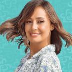 حلا شيحة حملها والدها ما أجمل صورتهما!