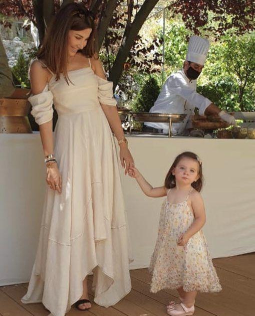نانسي عجرم ولقطة رائعة مع ابنتها ليا - صورة