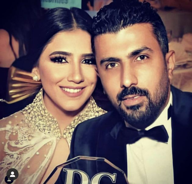محمد سامي وزوجته