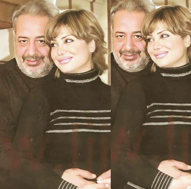 نورمان أسعد وأيمن زيدان بصورةٍ نادرة