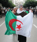 ردا على إتفاق الإمارات وإسرائيل جزائريون يغيرون شارع دبي إلى فلسطين - صورة