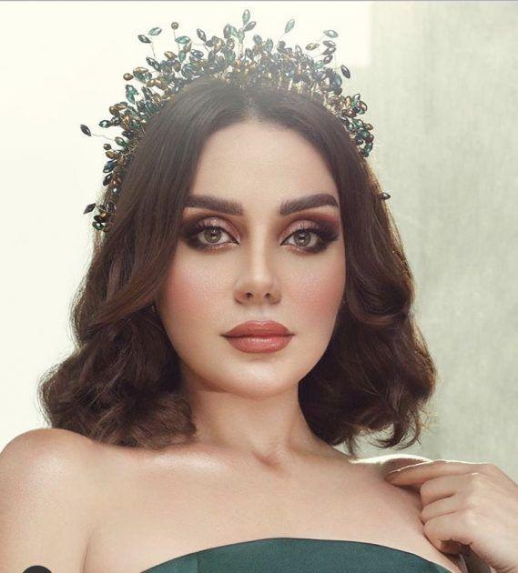 ابنة هيفا زينب فياض كالملكة بأجمل صورها