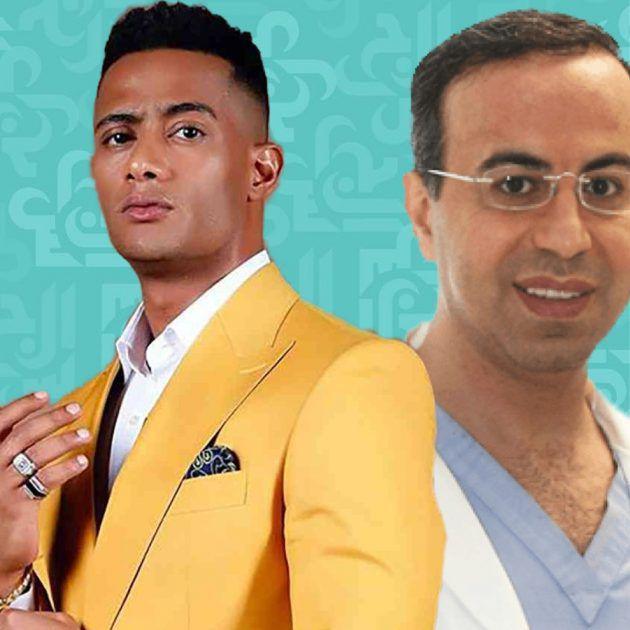 دكتور نادر صعب بضيافة محمد رمضان في دبي - فيديو