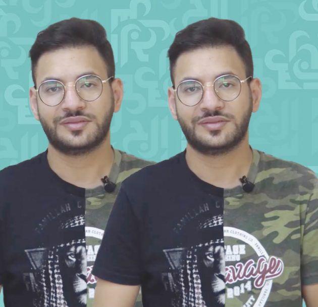 عمر حديدي: (عيد نادين الراسي ووفاء الكيلاني شبيهة داليدا عياش ويوسف الخال وهيفاء وهبي) - فيديو