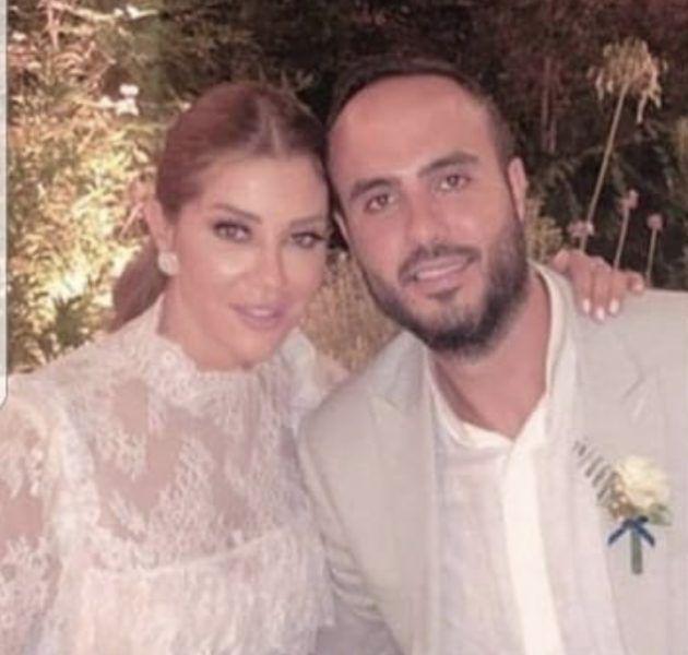 كارلا حداد مع زوجها وائل قسيس