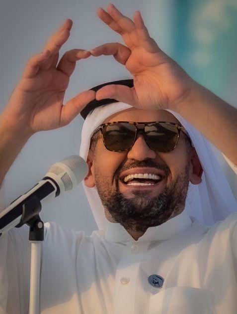 الجسمي يحتفل بالسعودية بالبنط العريض - صور
