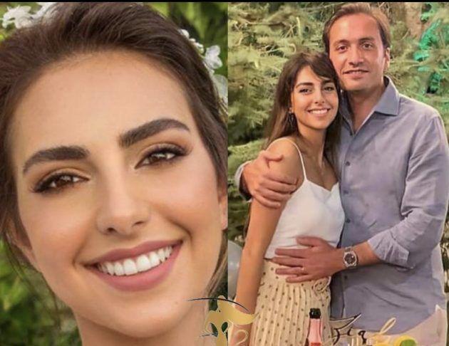 فاليري أبو شقرا وزوجها