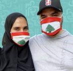سلامة محمد وخالد العامري في بيروت يساعدان المتضررين! - صورة