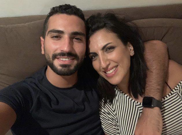 محمد الشرنوبي وشقيقته