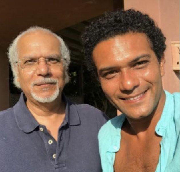 آسر ياسين ووالده