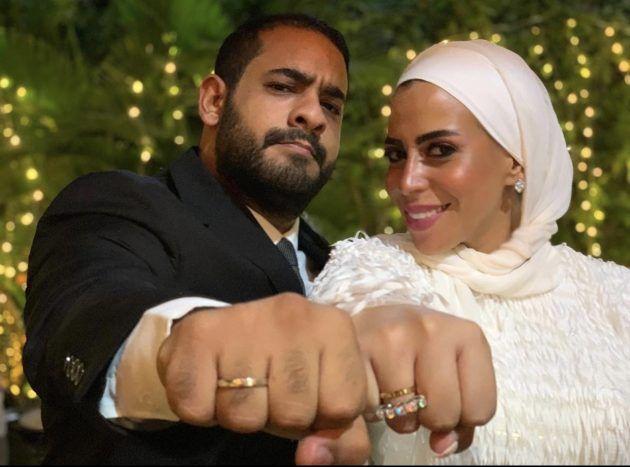 ابنة ماجد المصري وخطيبها