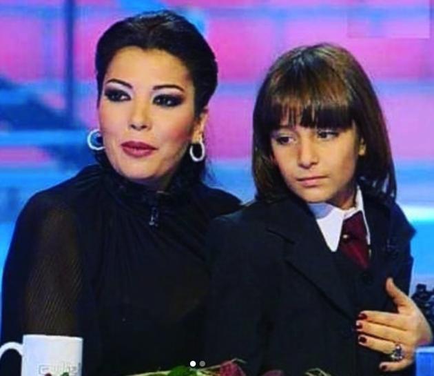 أصالة نصري وابنها خالد