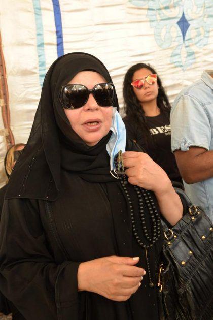 الممثلة المصرية ماجدة زكي
