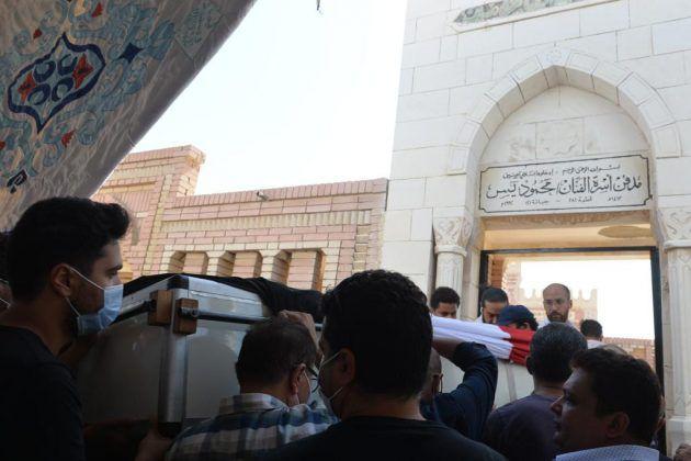 محمود ياسين إلى مثواه الأخير