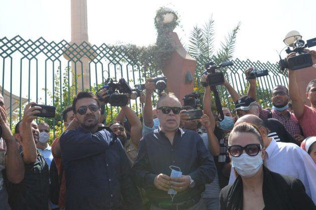 نقيب الممثلين المصريين أشرف زكي