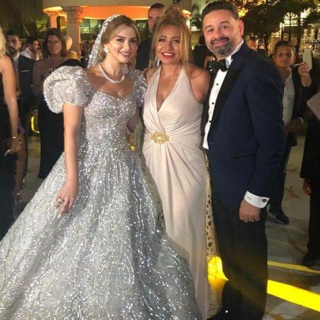 أمير شاهين يحتفل بزواجه والعروس تشبه ميرنا المهندس - صور
