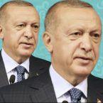 أردوغان مع نساء غطّوا أجسادهن وصلعة رجل - صورة