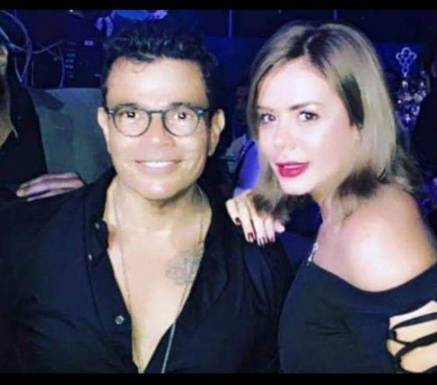 عمرو دياب على علاقة بهذه الممثلة بعد دينا الشربيني؟